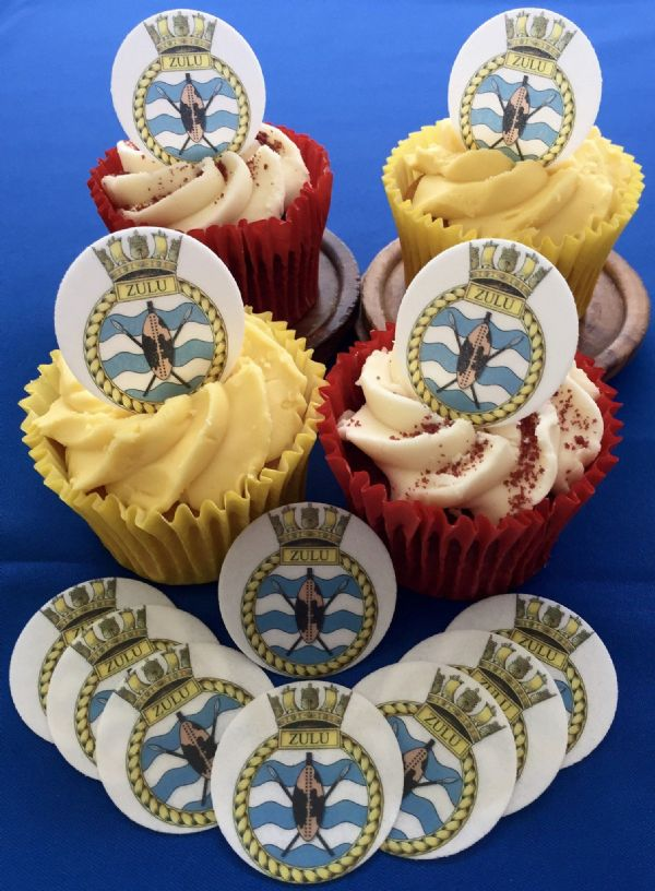 Royal Navy cake toppers - HMS Zulu